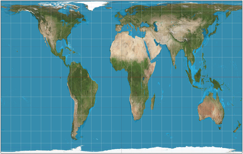 New map gives better perspective of world to Boston students
