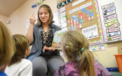 Spokane private school for the hearing-impaired gives kids a signing chance