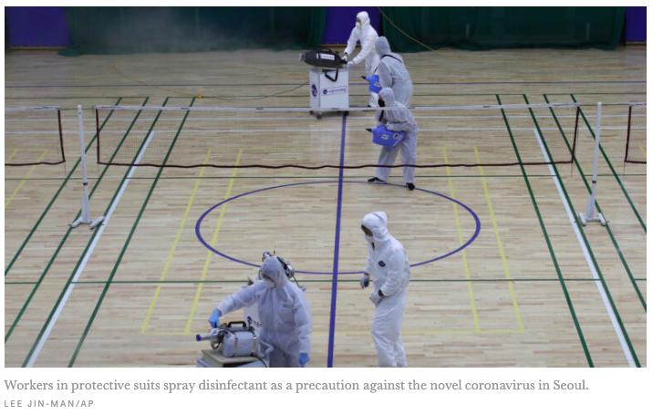 CDC expects 'community spread' of coronavirus