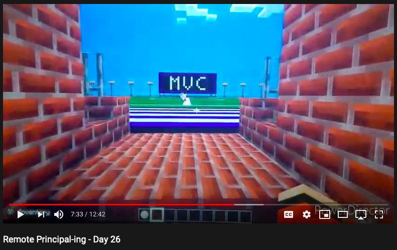 Minecraft Wednesday Remote Principal-ing Day 26