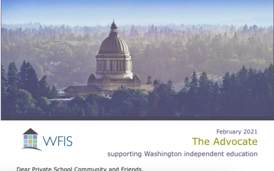 WFIS Advocate February 2021: private school news in WA State