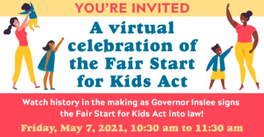 What a Celebration! YAY for Fair Start for Kids!
